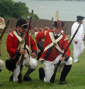 Reenactment 1797 Battle of san Juan