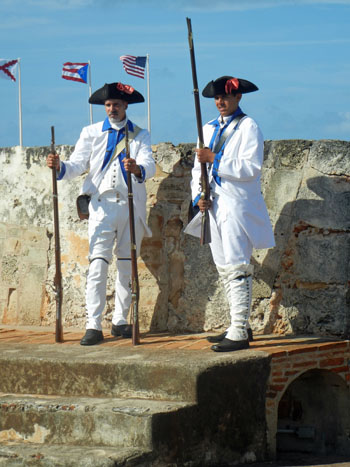 1797 Battle of San Juan Reenactment