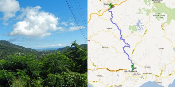 PR 15 Cayey to Guayama Puerto Rico