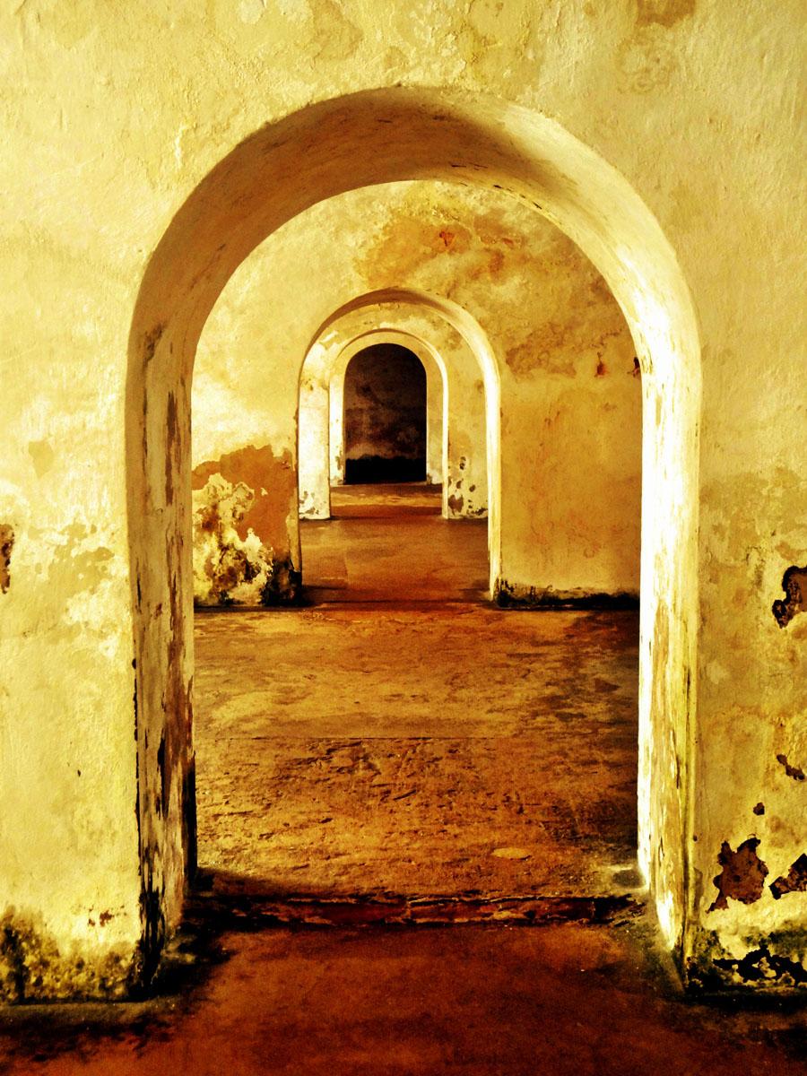 Arches @ El Morro Fort, Old San Juan