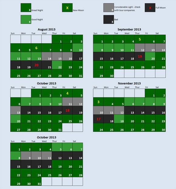 biobay moon calendar