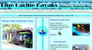 blue caribe kayaks vieques