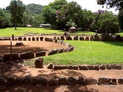 caguana ceremonial ball courts site utuado puerto rico