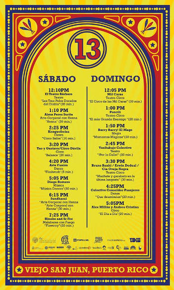 Puerto Rico Circo Fest 2016