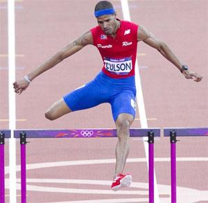 Puerto Rico Javier Culson Bronze Medal 2012 London Olympics