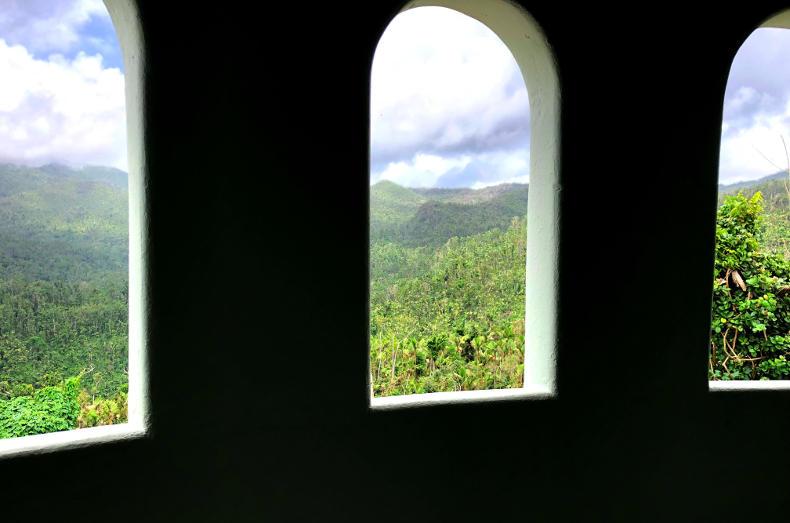 Yokahu Tower El Yunque Puerto Rico