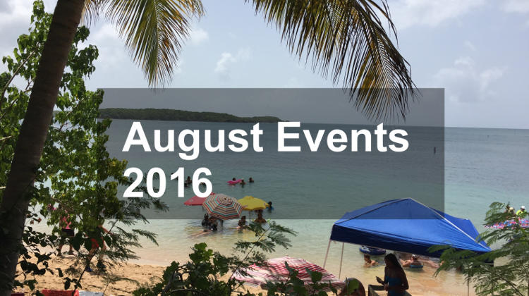 August Events in Puerto Rico