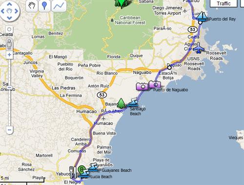 East Coast Beach Map | imgarcade.com - Online Image Arcade!