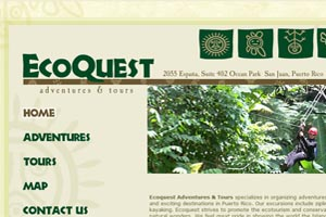ecoquest adventure tours in Puerto Rico