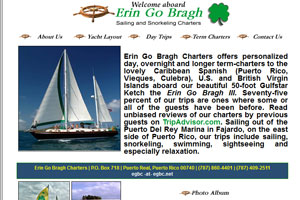 Erin Go Bragh Snorkeling and Day Sailing Tours