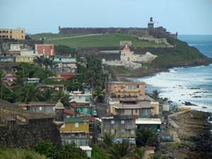 La Perla in Old San Juan, Puerto Rico