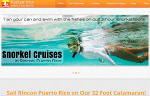 Katrina Sail Charters Snorkeling and Day sail Tours