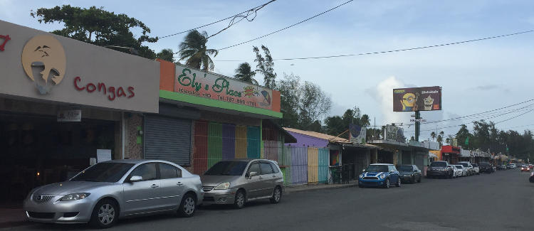 Luquillo Food Kiosks, Puerto Rico