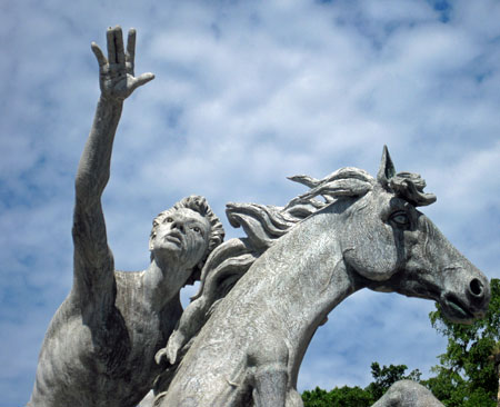 Raices Fountain, Old San Juan