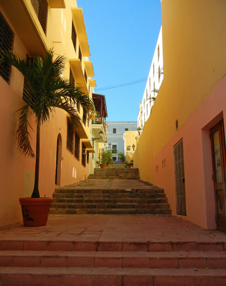 Steps near El Convento Hotel
