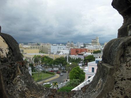 Old San Juan from San Cristobal Fort