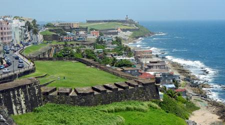 La Perla and El Morro from San Cristobal Fort