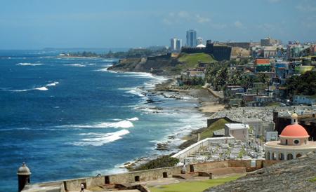 San Juan Cemetery and La Perla, Old San Juan