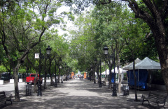 paseo de la princesa in old san juan