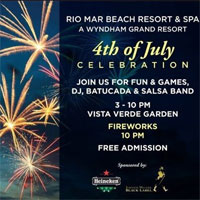 Rio Mar Resort July 4 Celebrations