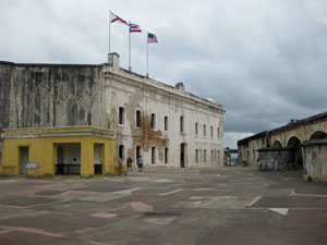 san cristobal fort main plaza