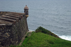 san cristobal fort sentry box