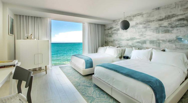 Serafina beach hotel now open discovering puerto rico for 2 bedroom suites san juan puerto rico
