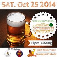 Shannons Pub Oktoberfest