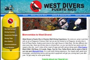 west divers puerto rico