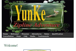 yunke zip line adventure tours in Puerto Rico