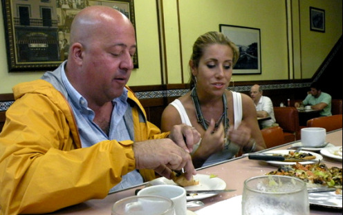 Bizarre Foods with Andrew Zimmern in Puerto Rico